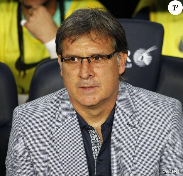 'Tata' Gerardo Martino à Barcelone, le 2 août 2013.
