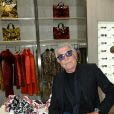 Roberto Cavalli lors de la Vogue Fashion Night Out 2013 à Milan. Le 17 septembre 2013.