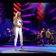 """Céline Dion : """"Loved Me back To Life"""" live lors de son concert sur les plaines d'Abraham à Québec, le 27 juillet 2013."""