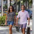Tamara Ecclestone et son mari Jay Rutland lors d'une session shopping à Beverly Hills à Los Angeles, le 16 septembre 2013