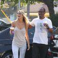 Eddie Murphy avec sa belle Paige Butcher à Los Angeles, le 19 septembre 2013.