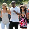 Eddie Murphy se balade avec sa belle Paige Butcher à Los Angeles, le 19 septembre 2013.
