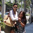 Nicole Murphy à Los Angeles le 13 juillet 2013.