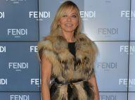 Fashion Week : Ornella Muti, spectatrice d'un show haut en couleur chez Fendi