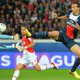 PSG-AS Monaco (1-1) au Parc des Princes le 22 septembre 2013.