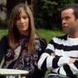 Nicolas et Carine lors du bilan dans L'amour est dans le pré 8 sur M6 le lundi 23 septembre 2013