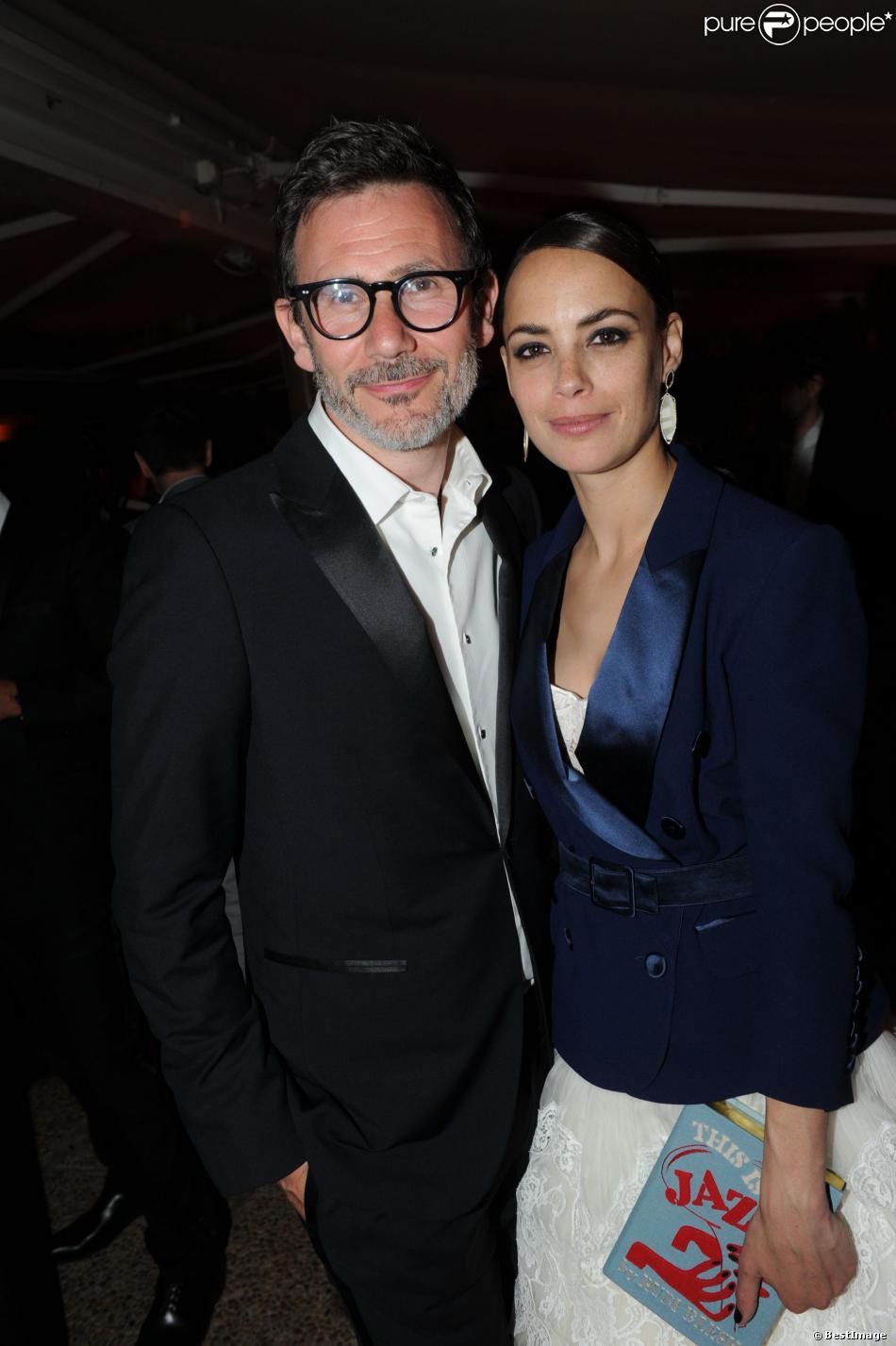 Exclusif - Bérénice Bejo et Michel Hazanavicius lors de la soirée du film Le Passé au Festival de Cannes 2013