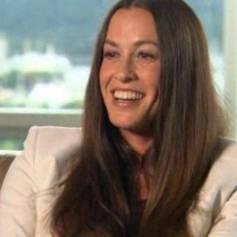 """Alanis Morissette s'est confiée sur la douleur de son accouchement dans une interview à l'émission américaine """"Today"""", le 26 septembre 2013."""
