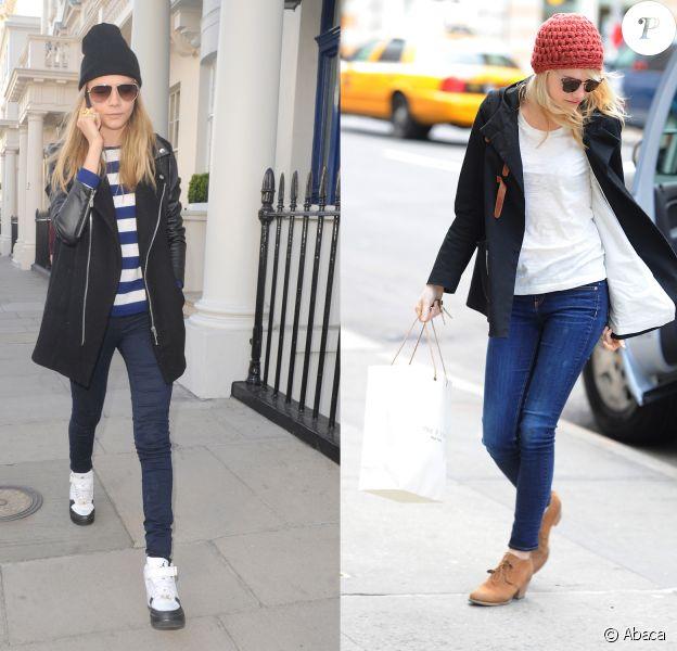 Cara Delevigne vs Emma Stone : qui porte le mieux le bonnet hype ?