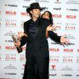 Robert Rodriguez, Rosario Dawson lors des ALMA Awards à Pasadena en Californie, le 27 septembre 2013.