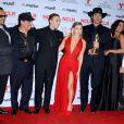 Tito Larriva, Danny Trejo, Daryl Sabara, Alexa Vega, Robert Rodriguez, Rosario Dawson et Jessica Alba lors des ALMA Awards à Pasadena en Californie, le 27 septembre 2013.