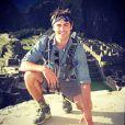 Zac Efron en vacances avec son père au Pérou.