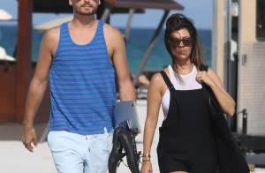 Kourtney Kardashian : Sexy en bikini avec son homme, loin des soucis familiaux