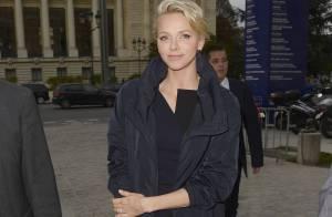 Fashion Week : Charlene de Monaco, ravissante à Paris pour le défilé Akris