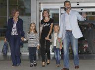 Letizia, Felipe d'Espagne : Leonor et Sofia, rayons de soleil du roi à l'hôpital