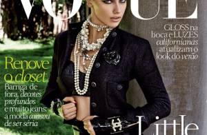 Adriana Lima : Aussi sexy en couverture de Vogue qu'en lingerie