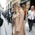 Kim Kardashian chez Hermès à Paris. Le 30 septembre 2013.