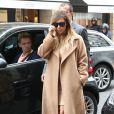 Kim Kardashian est allée faire du shopping chez Hermès. Paris, le 30 septembre 2013.