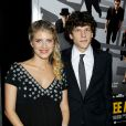 Jesse Eisenberg et Mélanie Laurent lors de l'avant-première de Now You See Me au AMC Lincoln Square de New York le 21 mai 2013