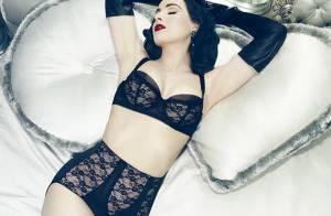 Lily Aldridge : Exquise en lingerie, l'Ange déploie ses ailes
