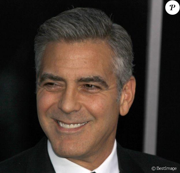 George Clooney à New York, le 1er octobre 2013.