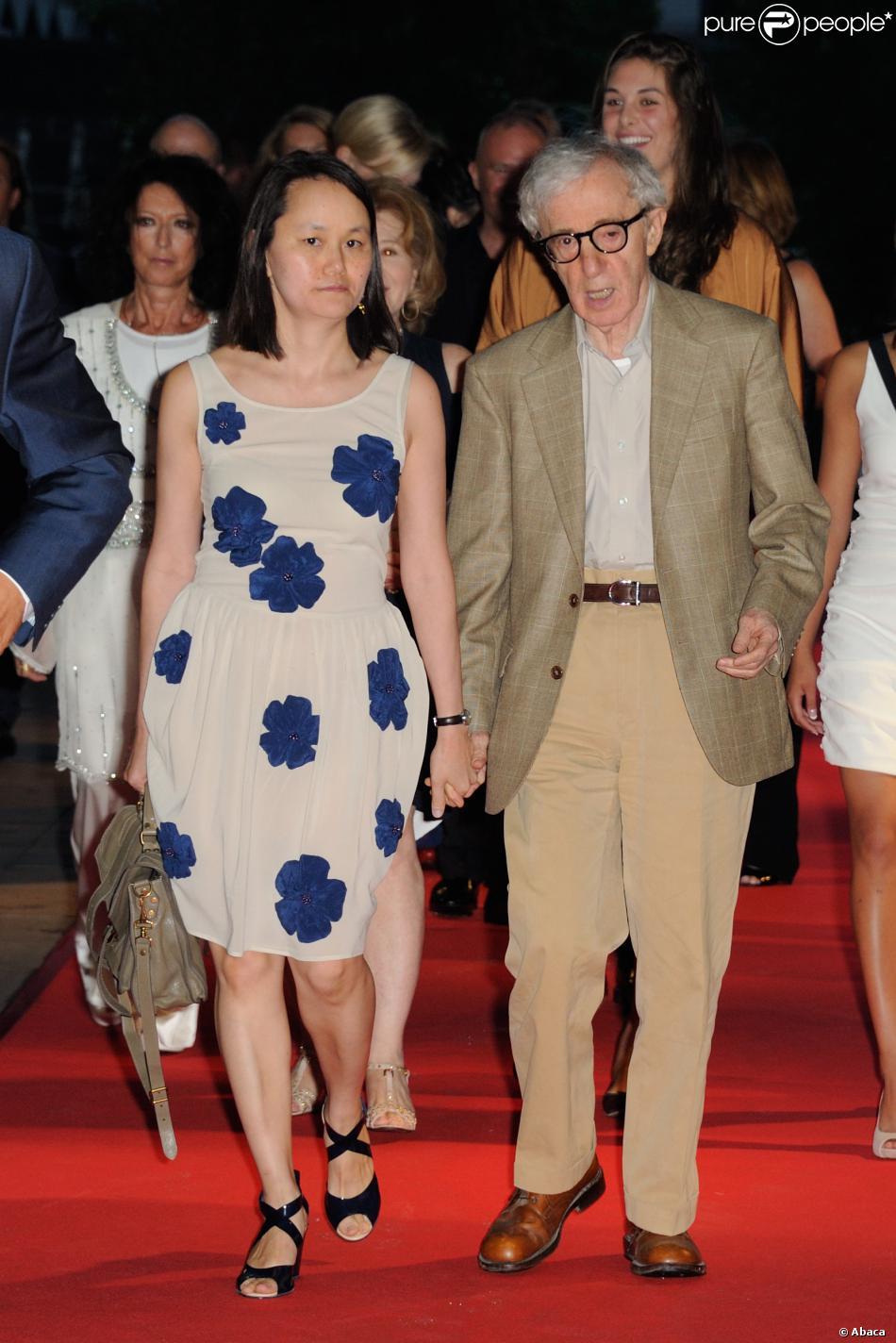 Woody Allen et Soon-Yi Previn lors de la pr  233 sentation de Blue Jasmine    Woody Allen Soon Yi 2013