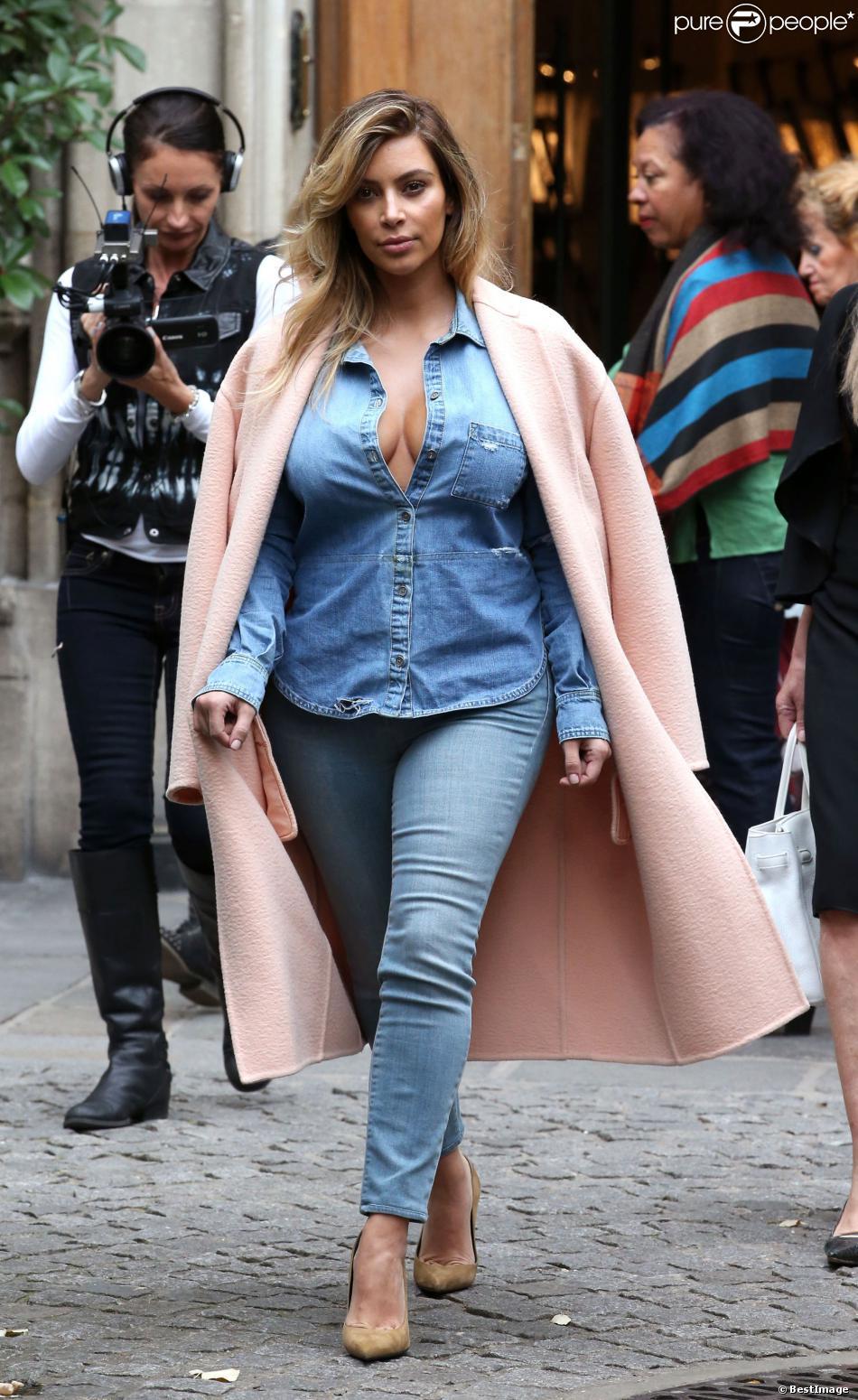Look De La Semaine Kim Kardashian Et Vanessa Paradis