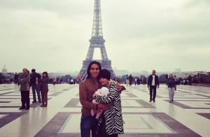 Falcao : Touriste amoureux avec sa belle Lorelei et leur petite fille Dominique