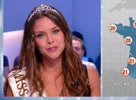 Marine Lorphelin : Miss France devient une Miss Météo charmante et décolletée
