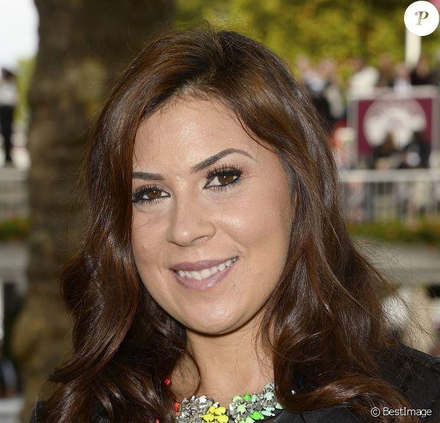 Marion Bartoliau 92e Qatar Prix de l'Arc de Triomphe sur l'hippodrome de Longchamp à Paris le 6 octobre 2013.