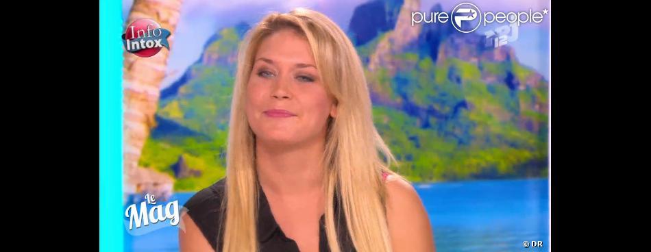 Marie (Anges de le télé-réalité 5) était invitée sur le plateau du Mag d'NRJ12, mardi 15 octobre.