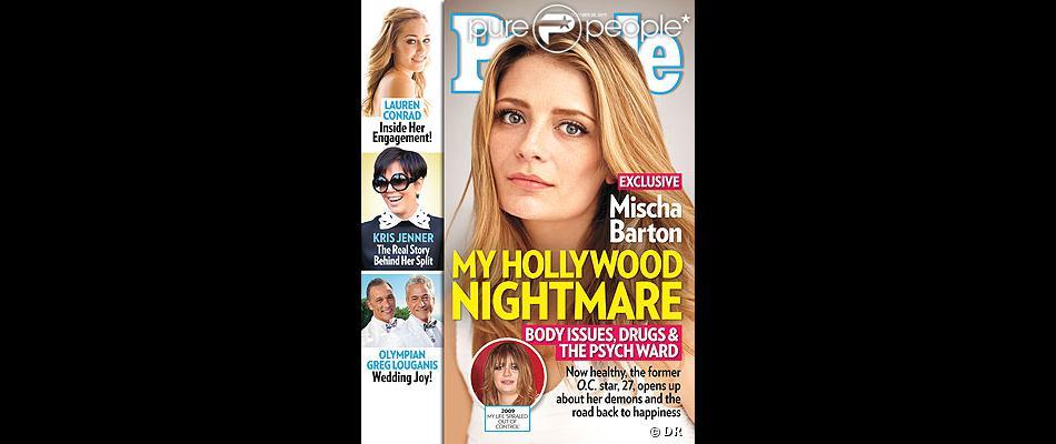 Mischa Barton se livre dans les pages du magazine People, daté du mois d'octobre 2013.