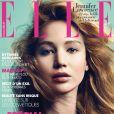 Jennifer Lawrence en couverture du magazine Elle.