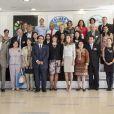 La princesse Letizia d'Espagne lors du Congrès National des Maladies rares à Murcie, le 18 Octobre 2013.