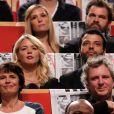 Virginie Efira et Mabrouk El Mechri - Remise du Prix Lumière à Quentin Tarantino lros du Fesitval Lumière à Lyon, le 18 octobre 2013.