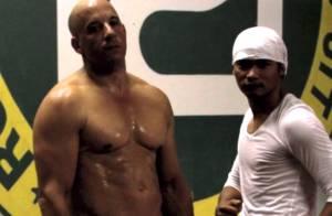 Vin Diesel : Muscles et bastons avant Fast and Furious 7