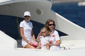 PHOTOS : Letizia et Felipe d'Espagne sont sur un bateau...