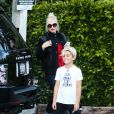 Kingston, fils aîné de Gwen Stefani, à  Los Angeles le 19 octobre 2013.