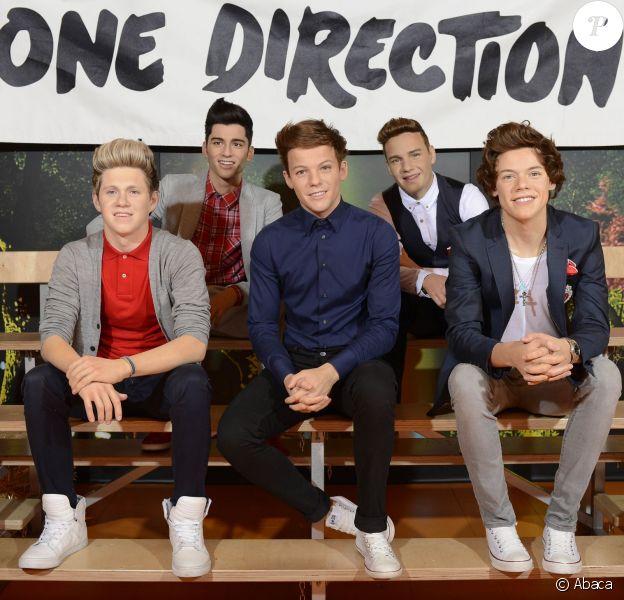 Les One Direction chez Madame Tussauds à Sydney, Australie, le 24 octobre 2013.