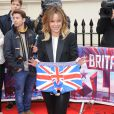 "Amanda Holden pour le lancement de la nouvelle saison de ""Britain's Got Talent"" à Londres, le 11 avril 2013."