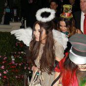 Vanessa Hudgens angélique, Cindy Crawford en motarde pour un Halloween de folie