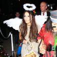 Vanessa Hudgens participe à une soirée spéciale Halloween, dans le quartier de Brentwood, à Los Angeles, le vendredi 25 octobre 2013.