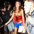 Elisabetta Canalis participe à une soirée spéciale Halloween, dans le quartier de Brentwood, à Los Angeles, le vendredi 25 octobre 2013.