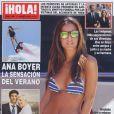 """Couverture du magazine """"Hola"""" du 3 août 2013."""