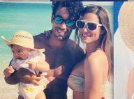 Lola Ponce : Maman sexy à la plage avec sa petite Erin et son latin lover