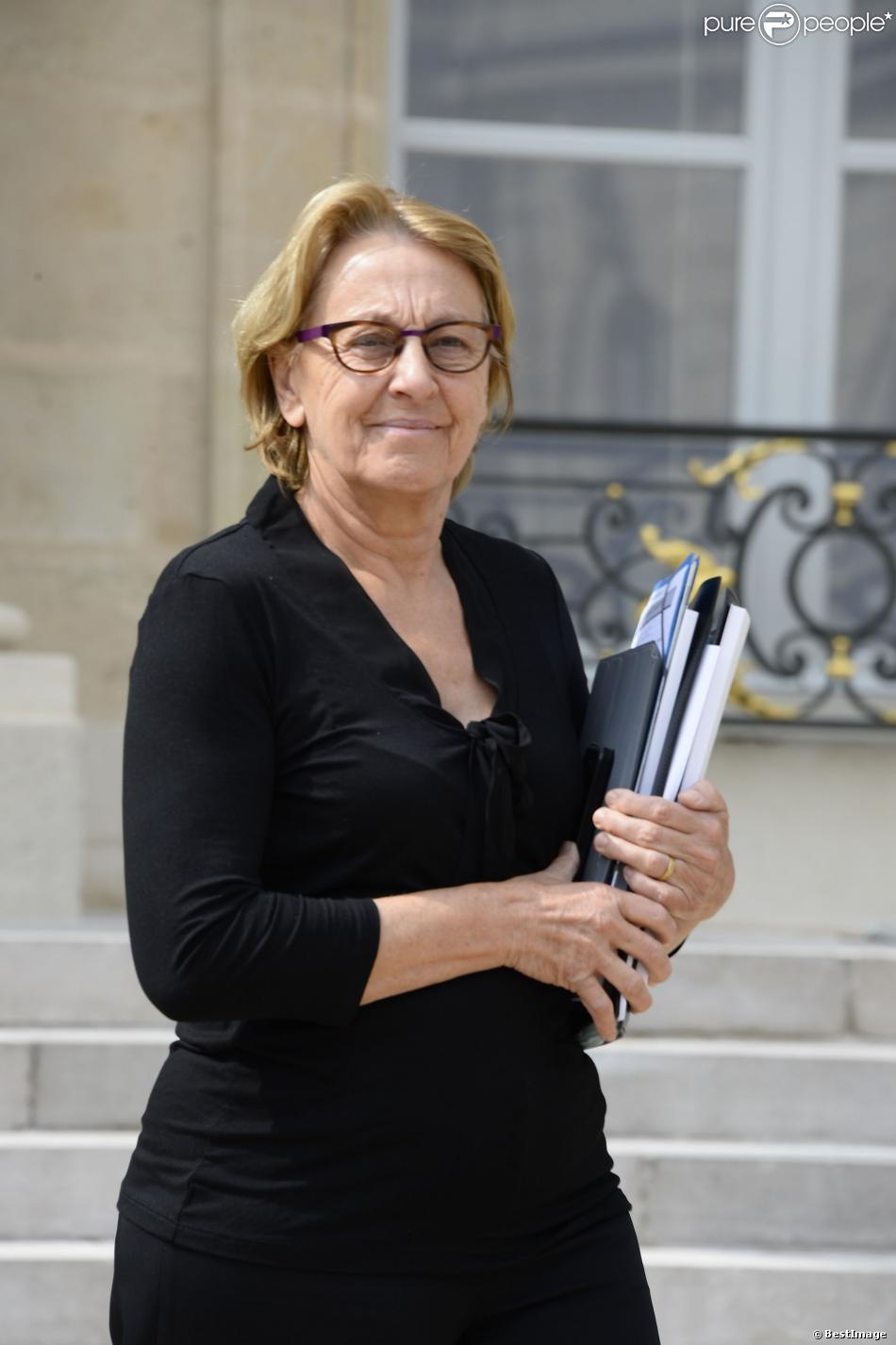 Marylise Lebranchu à l'Elysée à Paris le 24 juillet 2013