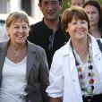 Martine Aubry et Marylise Lebranchu à La Rochelle le 27 août 2009.