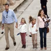 Letizia et Felipe d'Espagne: Balade avec Leonor et Sofia, de l'Alhambra à Exodus
