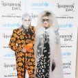 Jodie Kidd, David Blakeley lors du Bal Halloween organisé au One à Londres au profit de l'UNICEF le 31 octobre 2013