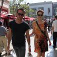 Michelle Monaghan et son époux Peter White, à West Hollywood, en octobre 2011.